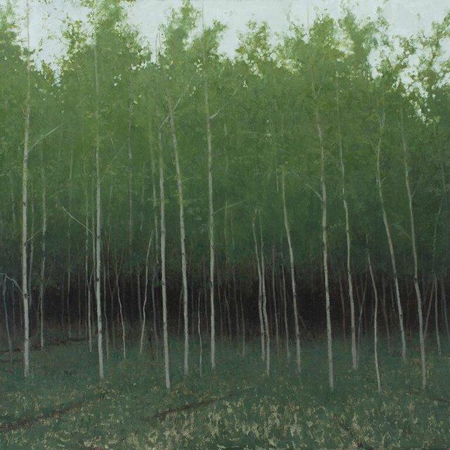 "Matthew Tarini, ""Forest Edge,"" nd"