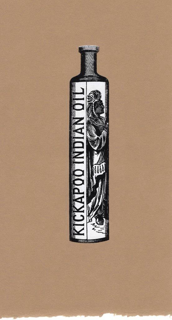 "Jamison Chas Banks, ""Kickapoo Indian Oil Bottle,"" nd"