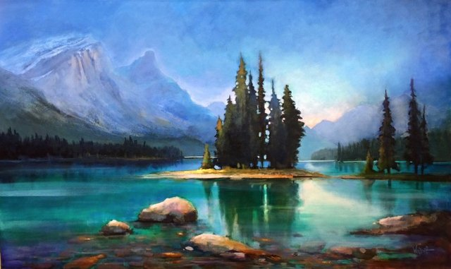 """Linda Wilder, """"Spirit Island,"""" nd"""