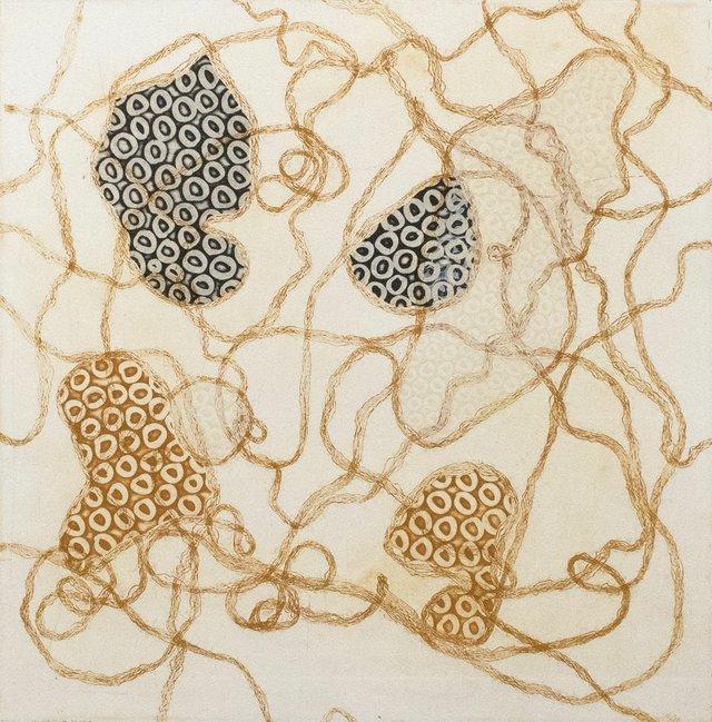 """Ina Kaur, """"Entangled Landscape,"""" 2016"""