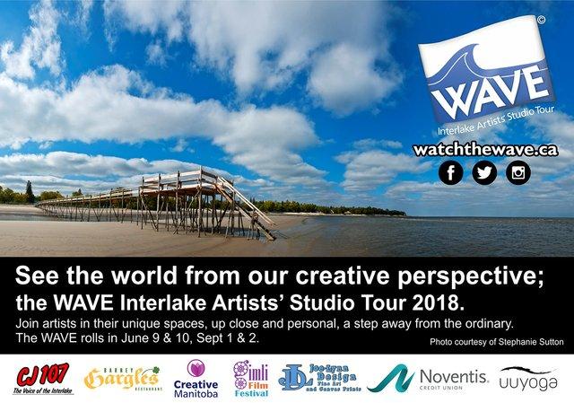 """WAVE Interlake Artists' Studio Tour,"" 2018"