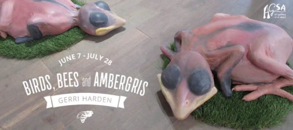 "Gerri Harden, ""Birds, Bees and Ambergris,"" 2018"