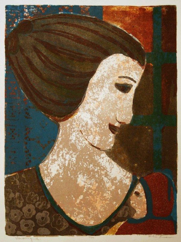 """John Snow, RCA, ASA, CSGA (1911 - 2004), """"Veronique,"""" nd"""