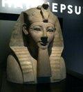 Bust of Hatshepsut, a female pharaoh