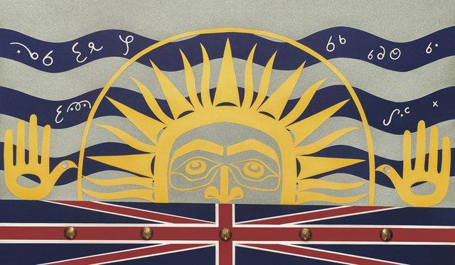 "Marianne Nicolson, ""The Sun is Setting on the British Empire,"" 2017"