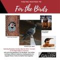 "Linda Cote, Michael Corner, Deanna Bartholow, Derek Bisbing, ""For the Birds,"" 2018"