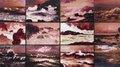 "Susan Hiller, ""Rough Dawns II,"" 2015"