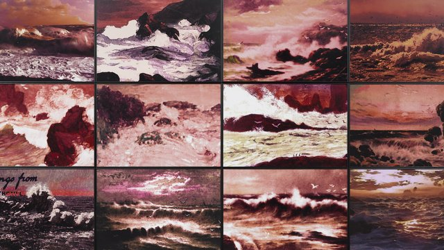 "Susan Hiller, ""Rough Dawns II,"" 2015"