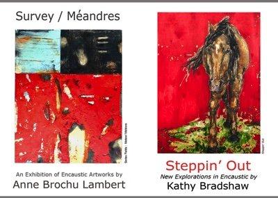 Anne Brochu Lambert & Kathy Bradshaw