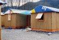 """Shigeru Ban, """"Paper Log House, Turkey,"""" 2000 (photo by Shigeru Ban Architects)"""