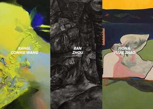 """Kangi Connie Wang, Ran Zhou, Fiona Yujie Zhao, """"Emerging Vision,"""" 2018"""