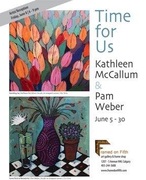 """Kathleen McCallum & Pam Weber, """"Time for Us,"""" 2018"""