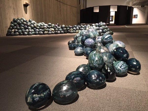 """James Slingerland, """"1000 Rock River (a work in progress),"""" 1996 – 1999"""