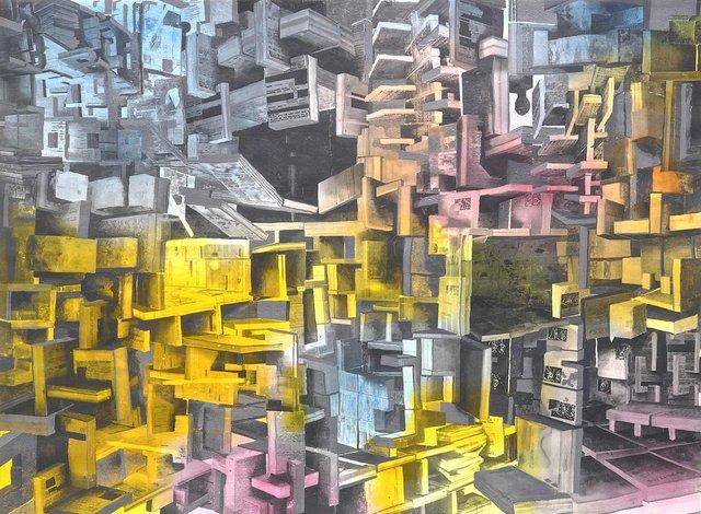 """Etienne Zack, """"Mirror Capture,"""" 2018"""