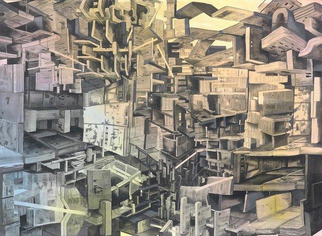 """Etienne Zack, """"Anastrophic,"""" 2018"""