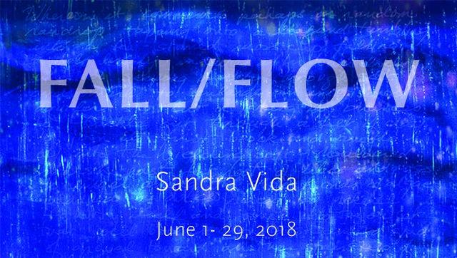 """Sandra Vida, """"FALL/FLOW,"""" 2018"""