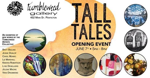"""""""Tall Tales,"""" 2018"""