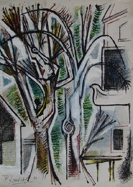 """""""November Tree and House"""""""