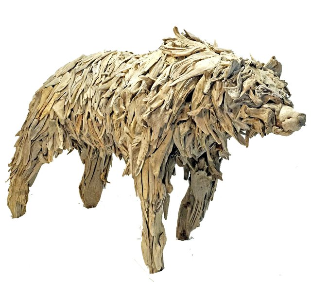 """Guthrie Gloag, """"Protect,"""" (grizzly), 2018"""
