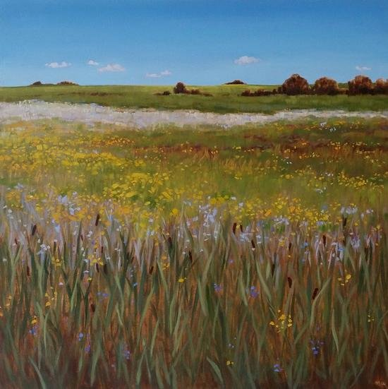 """Nicki Ault, """"A Complicated Land on a Still Day,"""""""