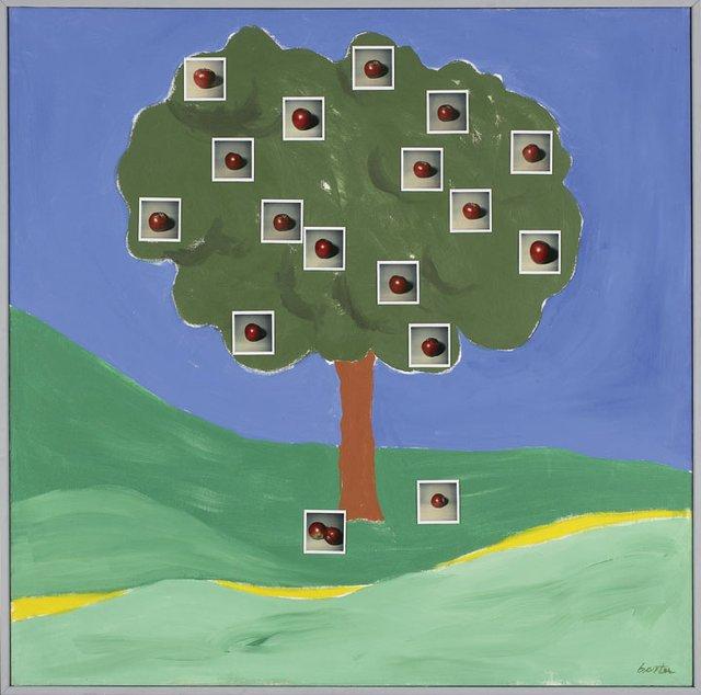 """Apple Tree on a Hill"""