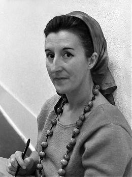 """Michael de Courcy, """"Photograph of Helen Goodwin,"""" 1968"""