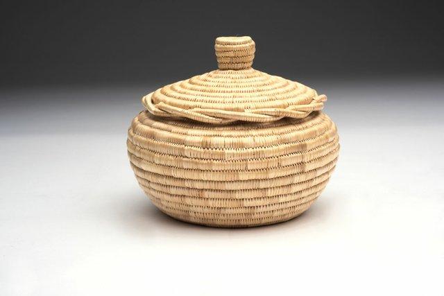 """Garmel Rich, """"Basket with Lid,"""" 1999"""