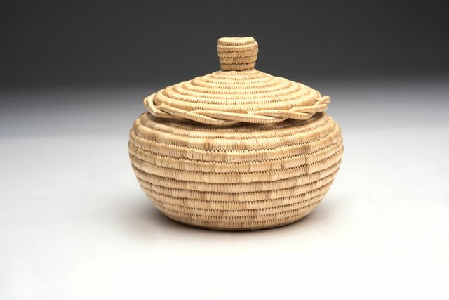 "Garmel Rich, ""Basket with Lid,"" 1999"