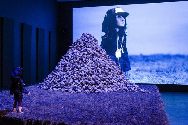 "Amanda Strong, ""Skull Mountain,"" 2016"