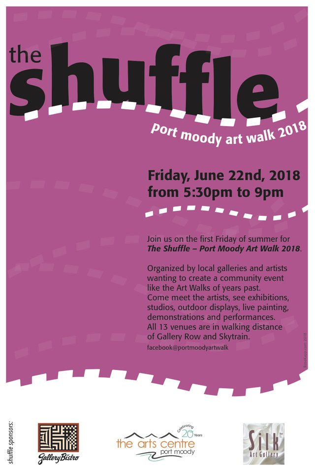 "Port Moody Art Walk, ""The Shuffle,"" 2018"