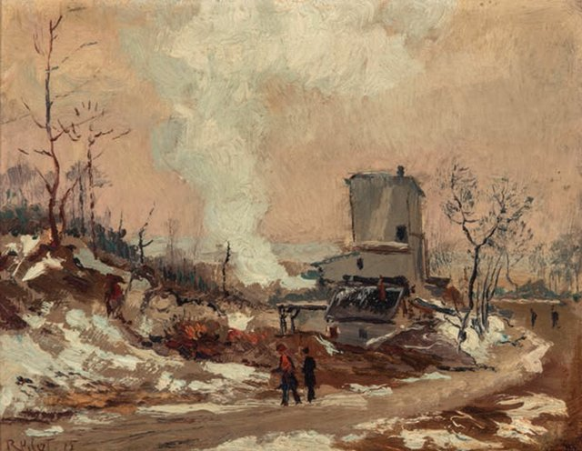"Robert Wakeham Pilot, ""The C.N.R. Tunnel Shaft in Outremont,"" 1915"