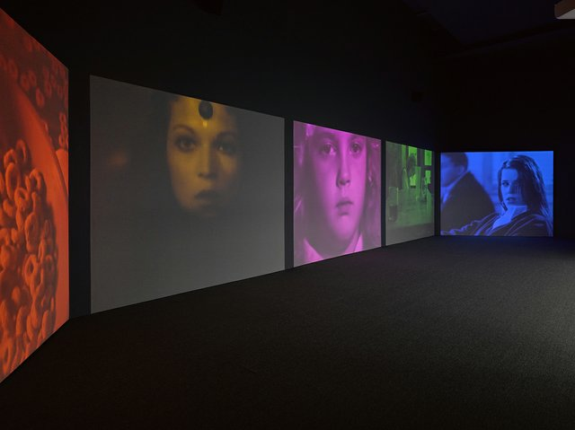 "Susan Hiller, ""Psi Girls,"" 1999"