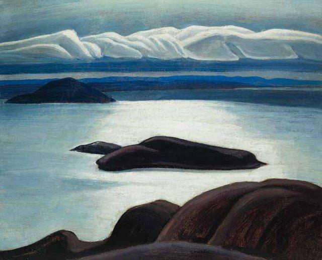 """Lawren Stewart Harris, """"Morning, Lake Superior,"""" circa 1926-1927"""