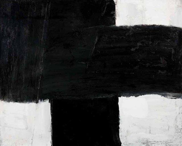 """Guido Molinari, """"Sans titre,"""" 1955"""