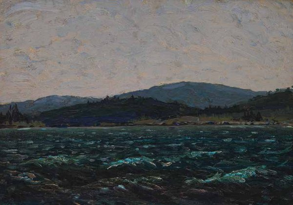 "Thomas John (Tom) Thomson, ""Sketch for Lake in Algonquin Park,"" 1912 or 1913"