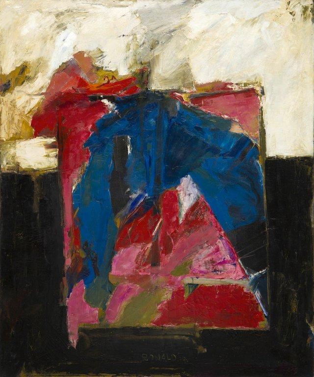 """William Ronald, """"Pyramid,"""" 1956"""