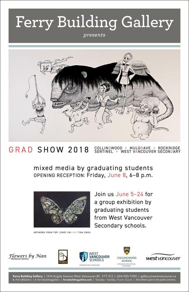 Grad Show 2018, West Vancouver Graduating Students