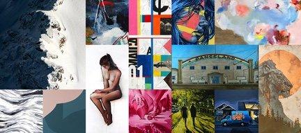"""Kimoto Gallery, """"Artwalk Salon,"""" 2018"""