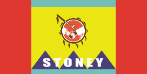 Flag of the Stoney Nakoda Nation
