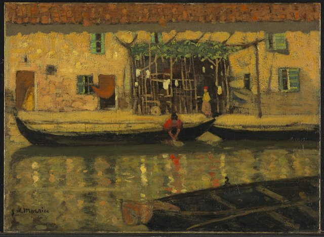 "James Wilson Morrice, ""Canal San Nicolò, Lido, Venice,""1904"
