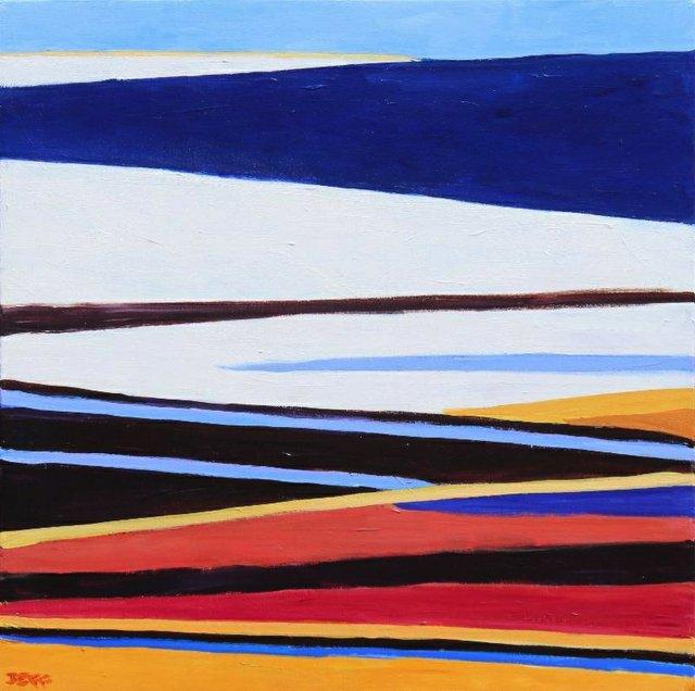 "Jeff Wilson, ""Composition R,"" 2018"