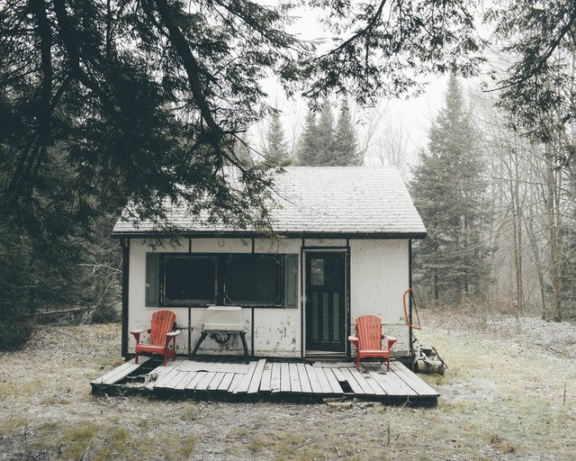 Cabin in Bracebridge, Ont., 2016 (photo by Sam Barkwell)