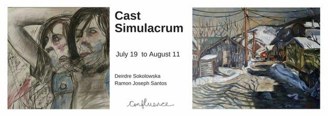 "Santos &Sokolowska, ""Cast Simulacrum,"" 2018"