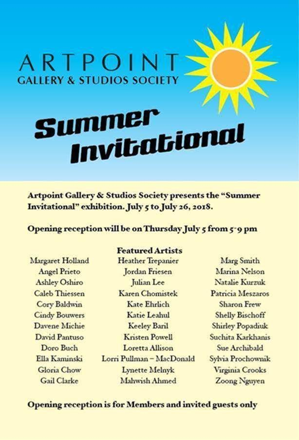 "ArtPoint, ""Summer Invitational,"" 2018"