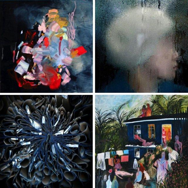 "Bau-Xi Gallery Vancouver, ""Deeper Shade of Blue,"" 2018"