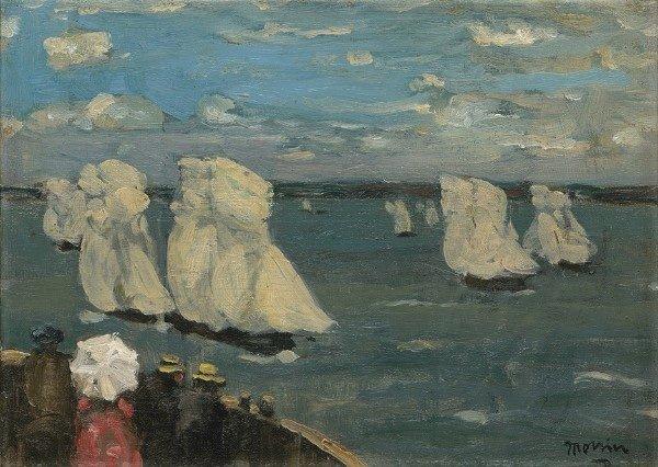 "James Wilson Morrice, ""The Regatta,"" c. 1902-1907"