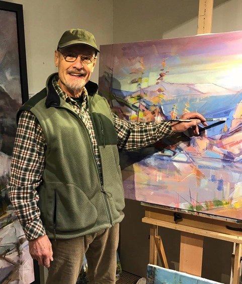 """Jim Vest, """"Artist in Residence,"""" 2018"""