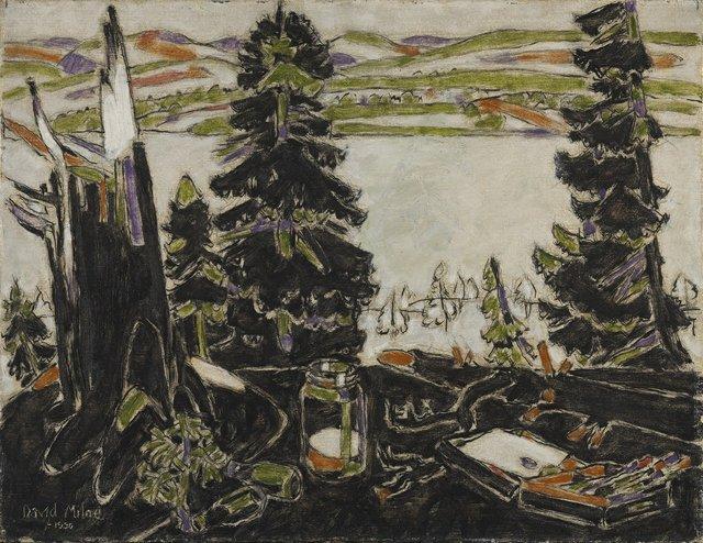 "David Milne, ""Painting Place III,"" 1930"