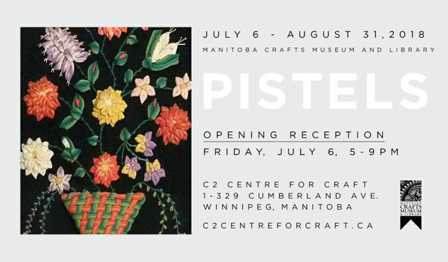 "C2 Centre for Craft, ""PISTELS: Exploring Floral Motifs in Craft,"" 2018"