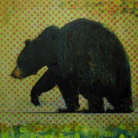 "Les Thomas, ""Black Bear LT997,"" 2018"
